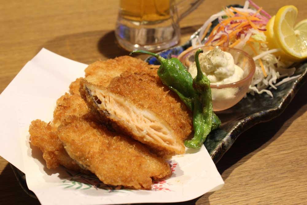 北海道産鮭フライ